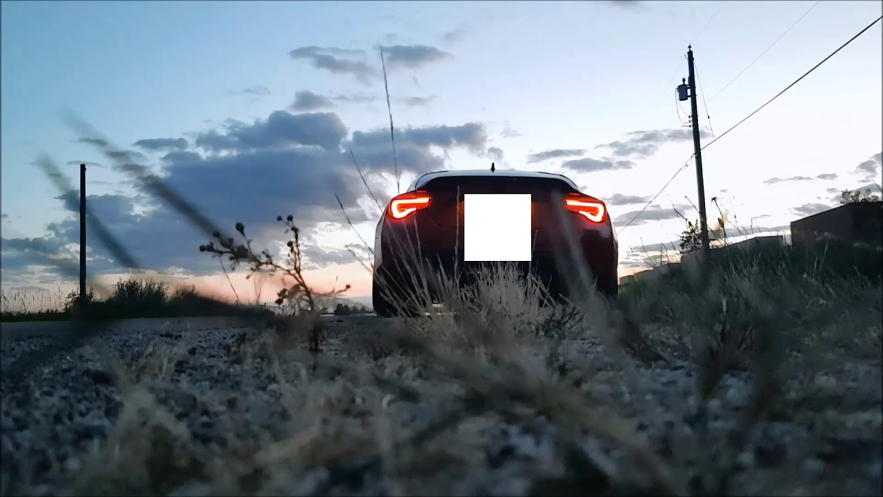 2017 Toyota 86FRS Uel and Trd exhaust  YouTube