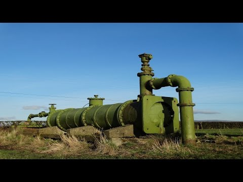 Giant Disused Water Pump and Substation #4. Over Wyre, lancashire