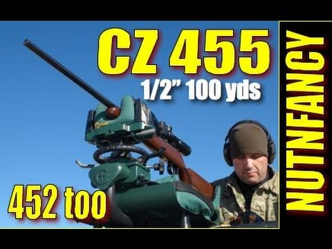 """""""CZ 455 & 452: Half MOA .22s"""" by Nutnfancy [Full Review]"""