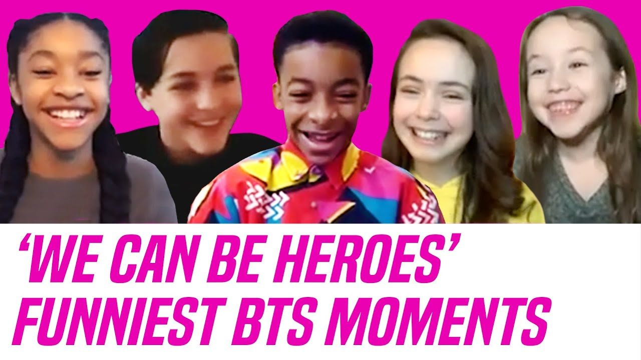Download 'We Can Be Heroes' Netflix Cast Talks Funniest Behind-the-Scenes Moments —Guppy, Rewind & More