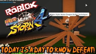 TODAY IS A DAY TO KNOW DEFEAT! | Roblox: Naruto Shippuden Ultimate Ninja Storm 4 - #3