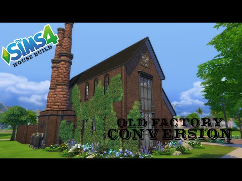 The Sims 4 - House Build - Old Factory Conversion