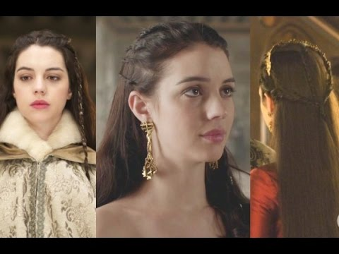 3 Reign Queen Mary Inspired Hairstyles Amanda L Youtube