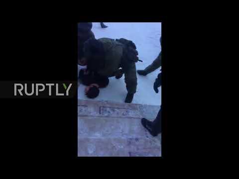 Russia: Video captures Ulan-Ude school attacker's detention