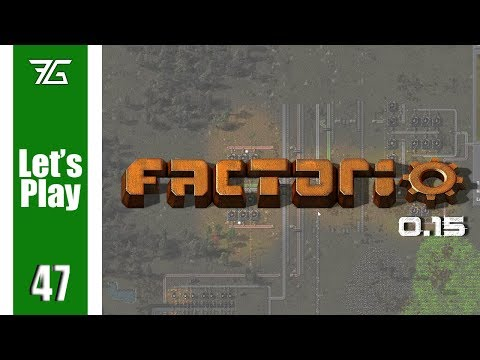 Factorio 0.15 - Ep 47 Compact Enrichment