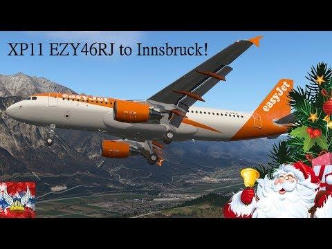 XP11 | Easyjet 46RJ to Innsruck! | FFA320 by NORSHUTTLE