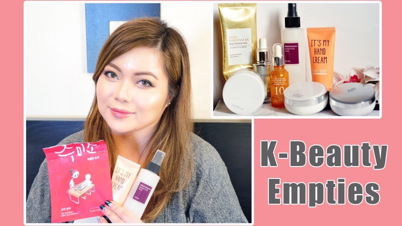 KBeauty Empties | Hits & Misses| #1 [Dec 2017]