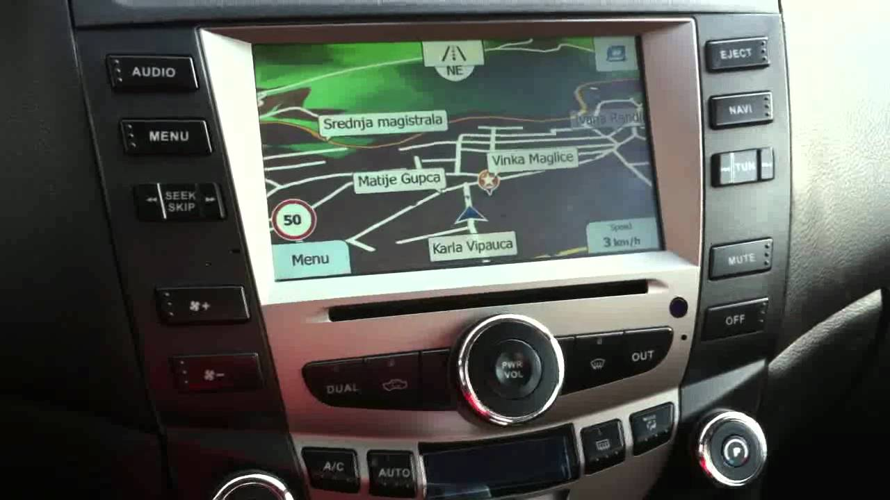 Honda Accord 2003 Types Aftermarket Headunit Review Part1