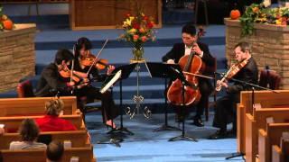 """Avalon String Quartet - Giuseppe Verdi (1813-1893): """"String Quartet in E minor: Allegro"""""""