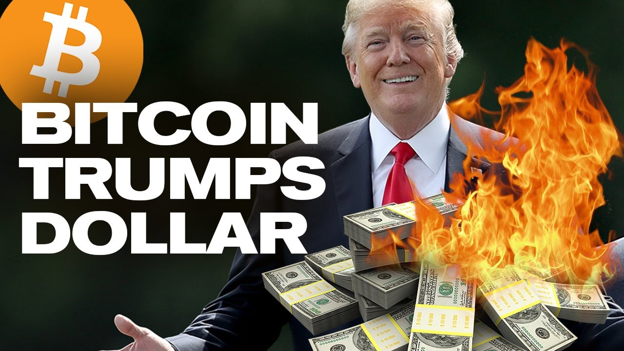 Trump Will Destroy The USD!  Leading To Bitcoin Takeover! Here's Why…