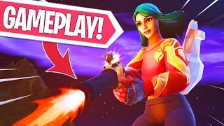 NIEUWE UPDATE!! FLINT-KNOCK PISTOL GAMEPLAY!! VLIEGEN MET HET WAPEN!  Fortnite Battle Royale LIVE