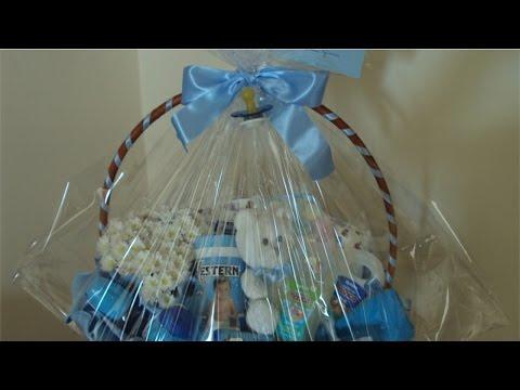 Curso Como Decorar Cestas para Presente - Cesta de Bebê