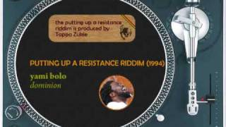 Putting Up A Resistance Medley (1994) Beres Hammond Briggy U Roy Half Pint Yami Bolo