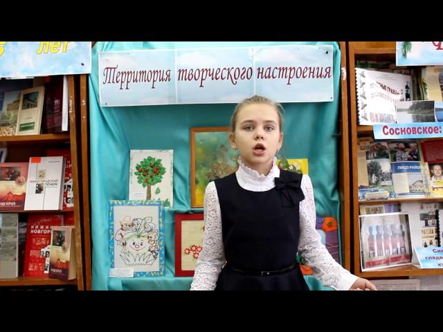 Изображение предпросмотра прочтения – АленаБлинова читает отрывок изпроизведения «Каштанка» А.П.Чехова