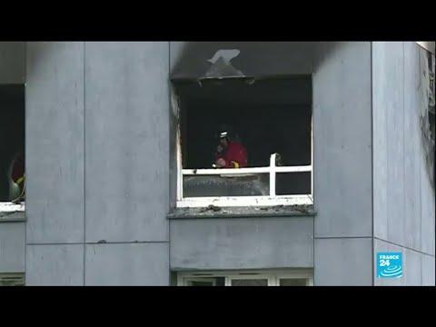 Bobigny : quatre morts dans l'incendie d'un immeuble