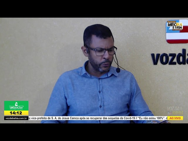 Programa Meio dia e meia LIVE com Genival Deolino (PSDB) prefeito de Santo Antônio de Jesus/BA