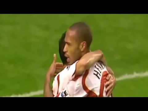 A tribute to Thierry Henry (Francky Vincent cover)