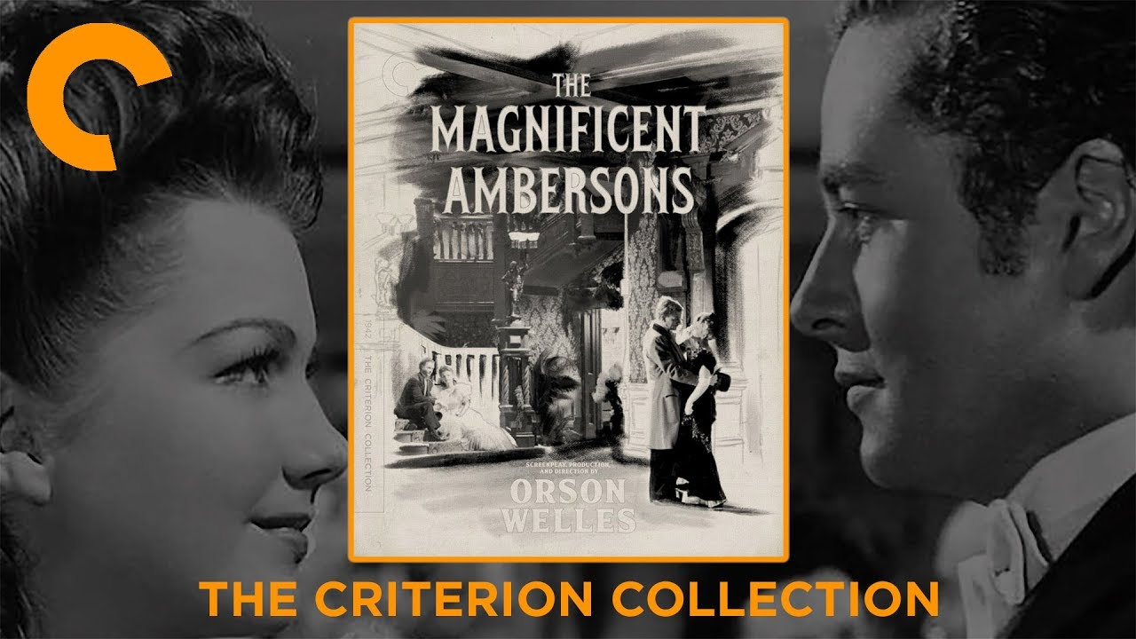 Download The Magnificent Ambersons (1942) The Criterion Collection Blu-ray Digipack Unboxing (4K Video)