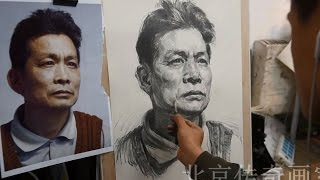 How to Draw portraits | Middle Aged Men drawing
