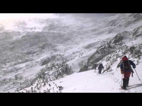 Androscoggin Valley Search and Rescue (AVSAR) near Star Lake on Mount Adams, New Hampshire.