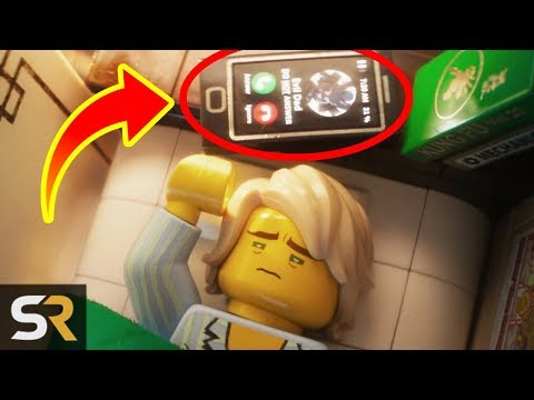 10 LEGO Ninjago Movie Easter Eggs You Didn't Notice en streaming