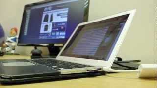 """ASUS VE247H 24"""" Review: My Macbook Air Setup"""