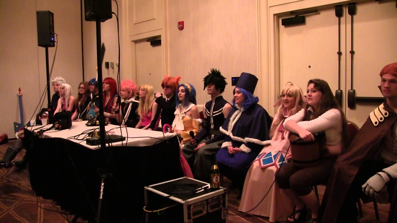 Ask Fairy Tail Panel Triad Anime Convention 2016 Part 2