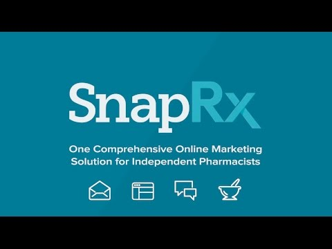 Introduction to SnapRx - Websites, Email and Social Media Marketing for Independent Pharmacists
