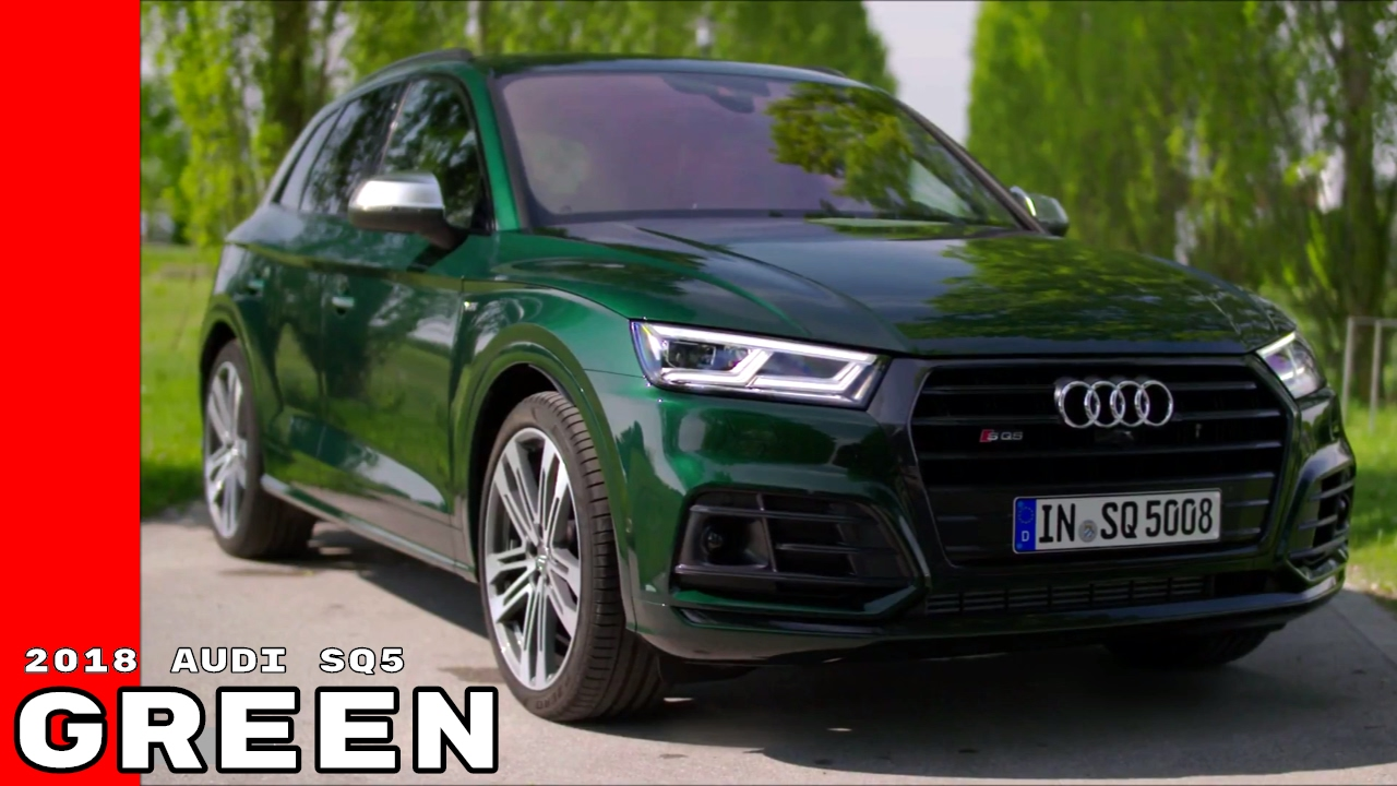 Green US Spec 2018 Audi SQ5 - YouTube