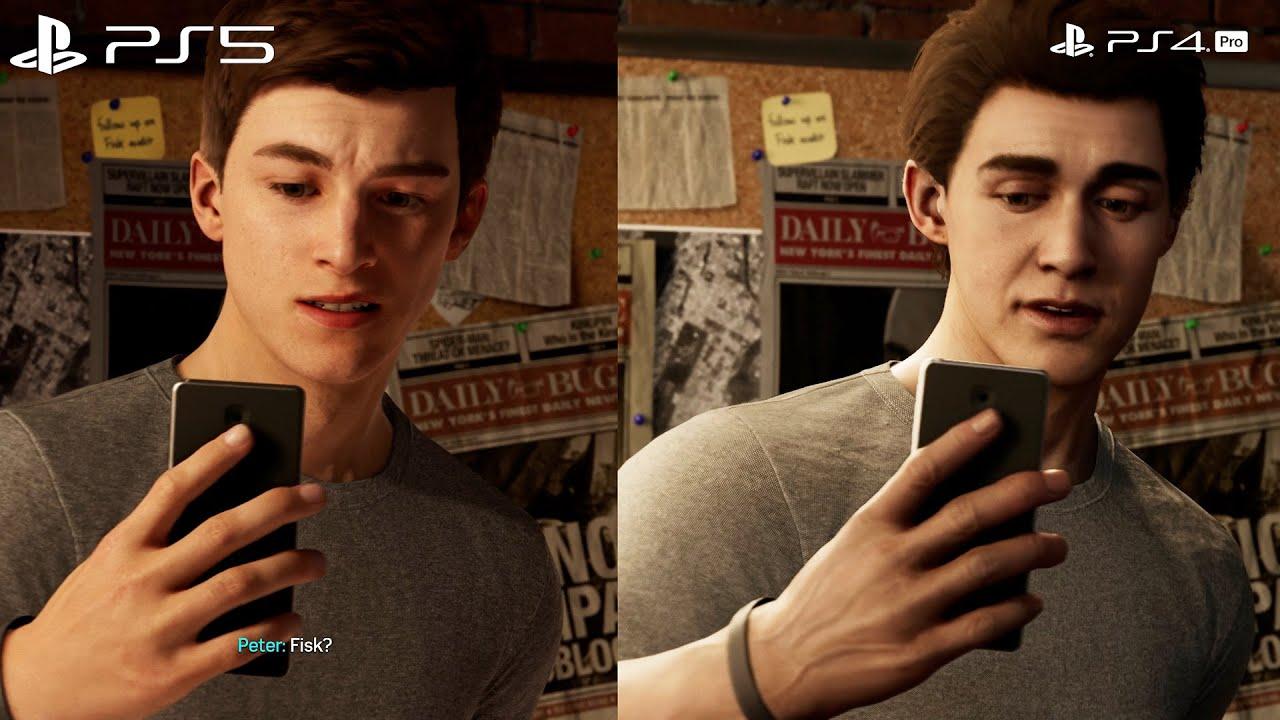 Download Marvel's Spider-Man Remastered - PS4 vs PS5 Comparison
