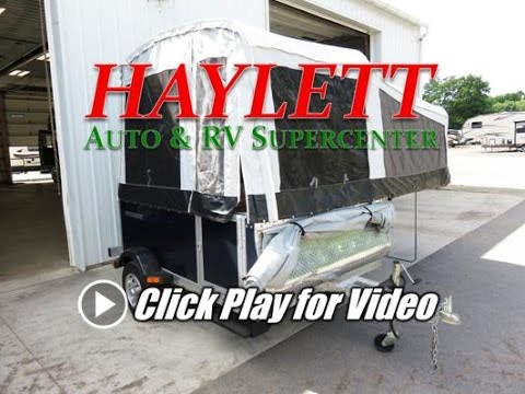 HaylettRV com - 2011 Quicksilver 6 0 Used Popup Fold Down Tent Camper by  Livin Lite RV