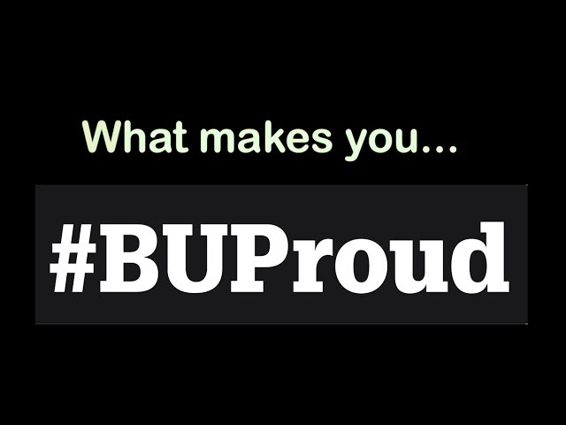#BUProud