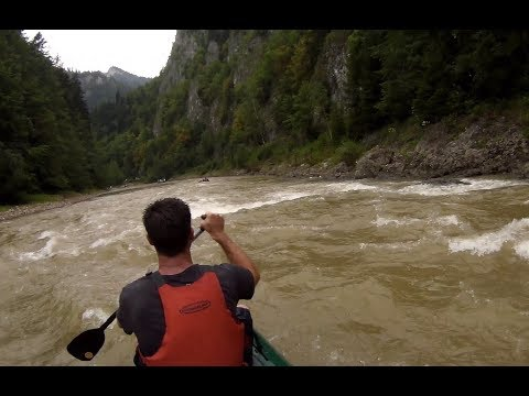 Splav řeky Dunajec a Poprad