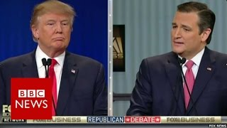 Trump v Cruz: Where were you born? BBC News