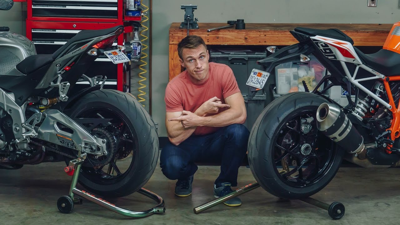 Single-Sided vs  Double-Sided Swingarm - What's The Difference? | MC GARAGE