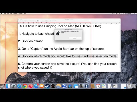 How to use Snipping Tool on Mac (No Download)