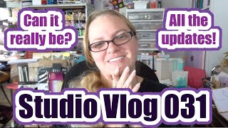 Studio Vlog 031 - Return of the Vlogs and Updates