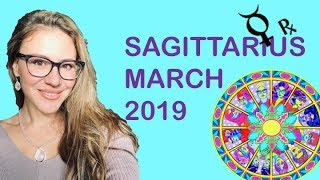 SAGITTARIUS MARCH 2019. TRIPLE POSITIVE MANIFESTING POWER for U! Some Changes at HOME & Private Life