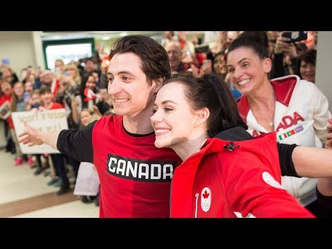 Virtue, Moir 'enjoying every moment' after Pyeongchang Games