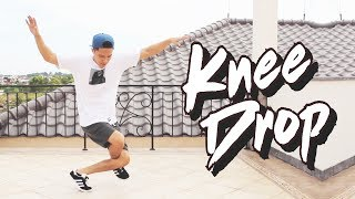 Breakdance Tutorial I How to KNEE DROP or PIN DROP