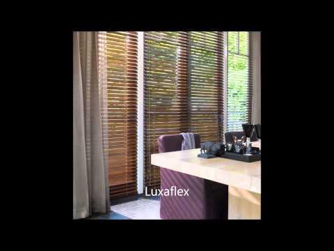 Luxaflex houten jaloezie door Westland Zonwering