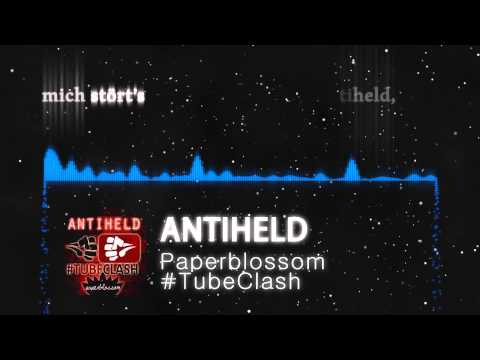 Paperblossom - Antiheld - Karaoke-Version (#TubeClash) [Full version, Lyrics, Full-HD, Visualizer]