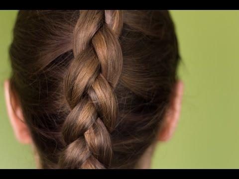 Прически на каждый день, средние, длинные волосы.Колосок. Вывернутая(обратная) коса | Зачіски.