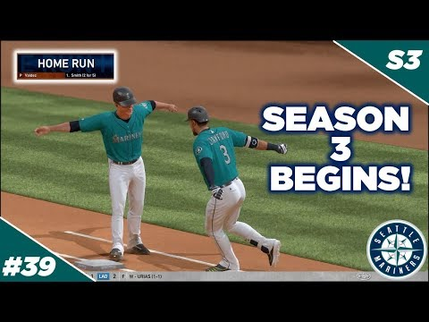 2021 Season Begins!! The New Offense! -  MLB The Show 19 Franchise | Seattle Mariners - Ep 39