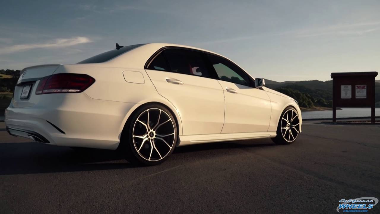 Mercedes benz e350 on vorsteiner v ff 103 wheels by for Mercedes benz of southern california