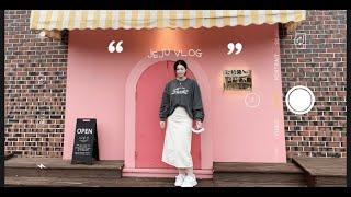 vlog:)제주도힐링✈,오겹살,회,엉또폭포,김만복,동문…