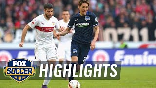 Video Gol Pertandingan Vfb Stuttgart vs Hertha Berlin