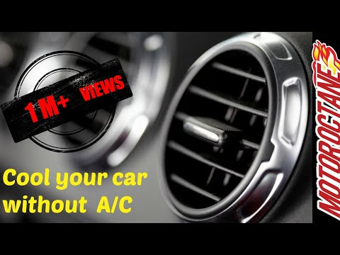 Car cooling without AC in 1 minute in Hindi   MotorOctane