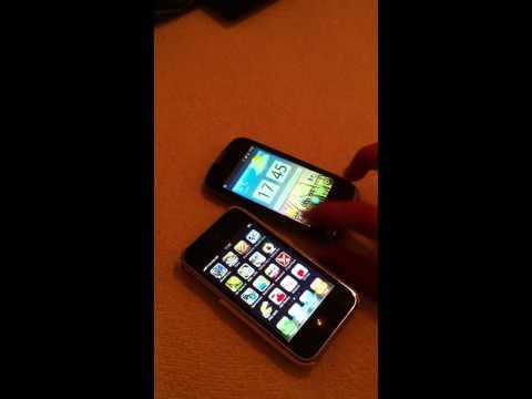 Iphone 3G vs Huawei sonic U8650-Speed Test