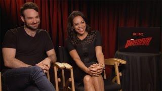 Charlie Cox & Rosario Dawson Interview: Marvel